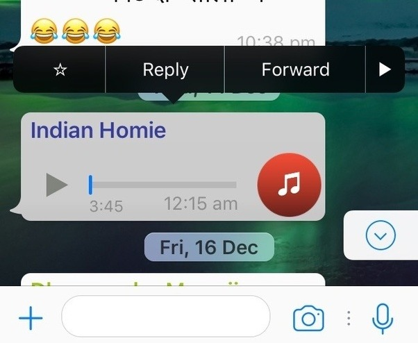 how to save music on iphone can i save audio from whatsapp to my app or 19054