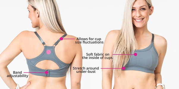aff73c1f79 The only difference is nursing bras have specially designed drop-down cups  which can be used to open the ...