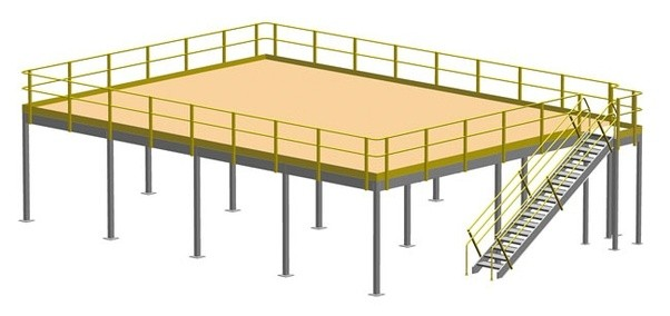 Mezzanine Floor Loading : How to calculate the load capacity of a platform quora