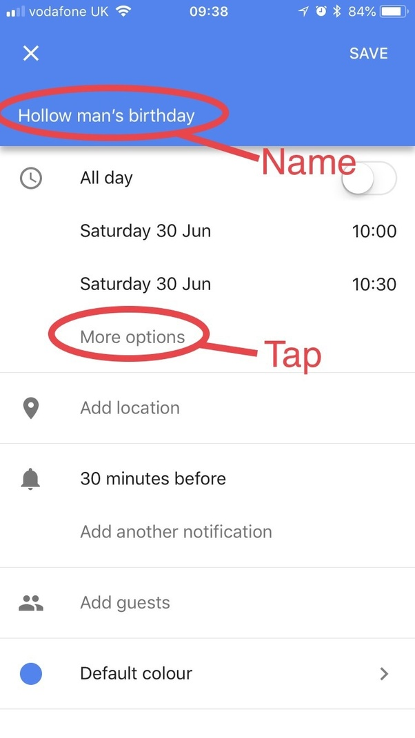 how to put someone s birthday on google calendar every year on the
