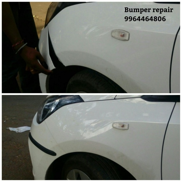 How much will it cost to repair a car bumper if one side is