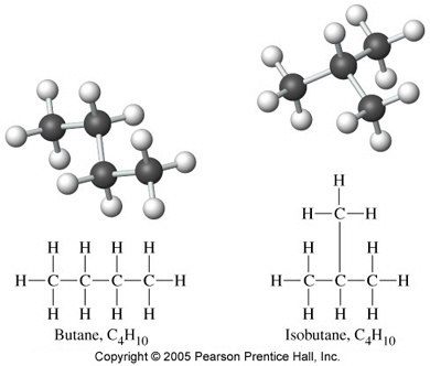 What are the chain isomers of butane? - Quora