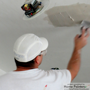 How To Fix A Flaking Stippled Ceiling In A Bathroom Quora