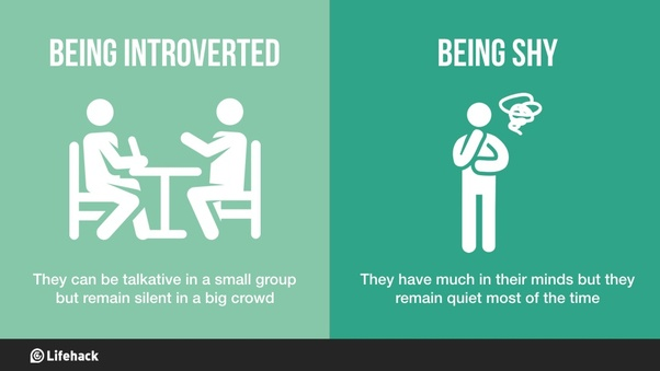 Am i shy or introverted
