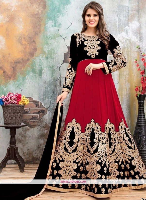 b82b3546035 Salwar suits online shopping at low prices on http   Jiofab.com Dresses  Online for Girls and Women. Western dresses have an oversized array of  designs and ...