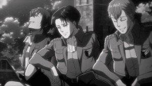 Image result for young levi and friends