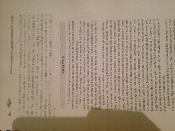 Best college admission essay george brown