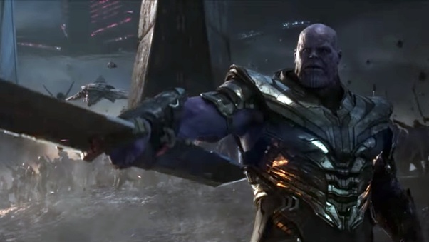 In the final battle of Avengers: Endgame, why did Thanos
