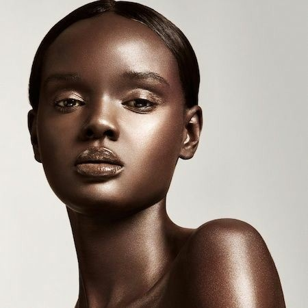 The most beautiful black girl