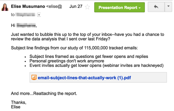 What Are Some Good Follow Up Email Subject Line Examples Quora