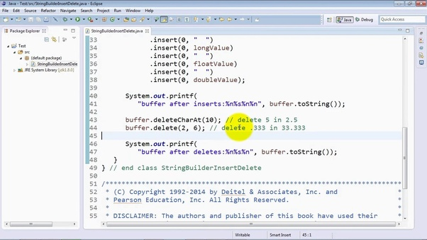 How to delete substring from original string in Java - Quora