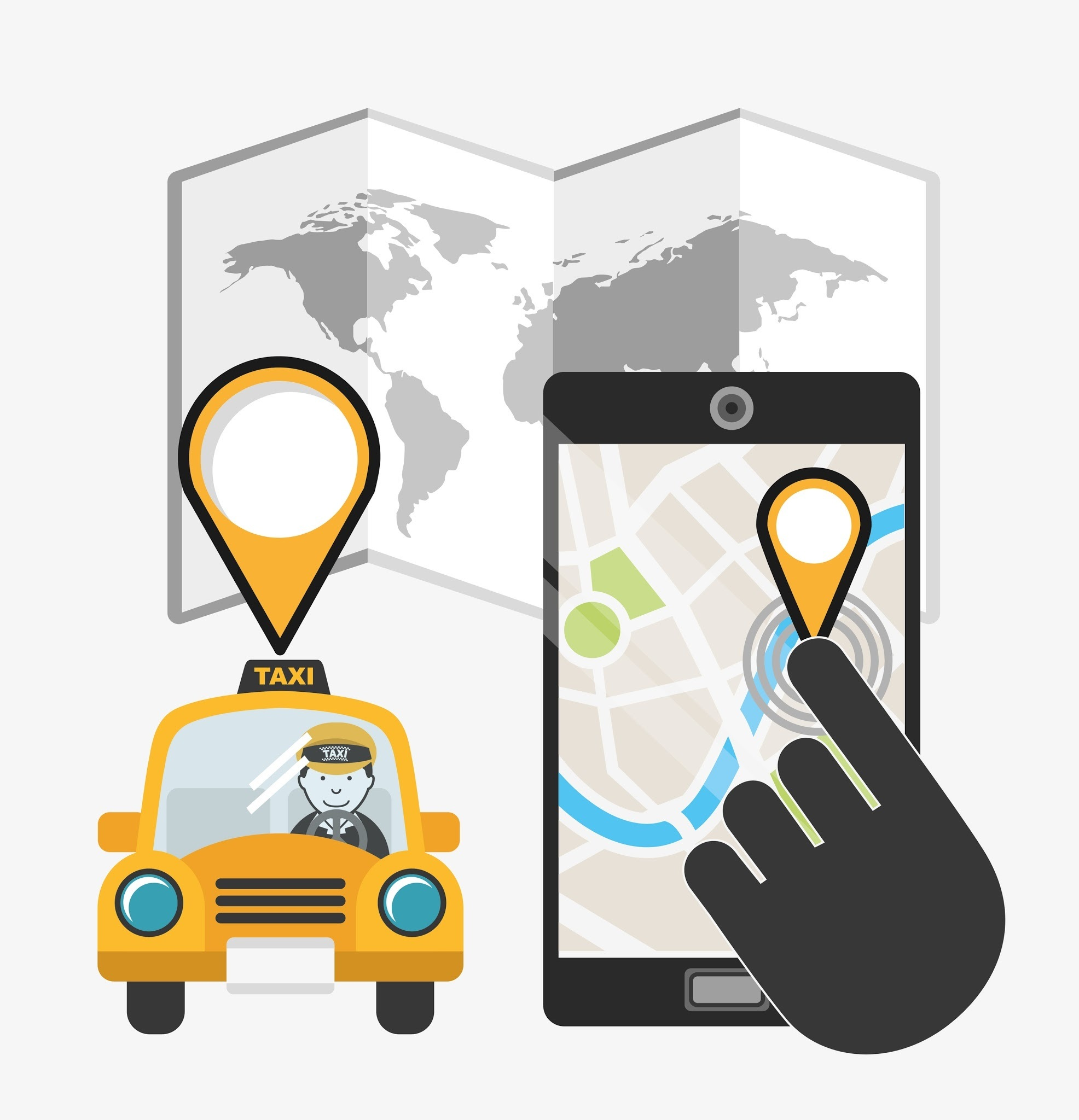 How to create an app similar to Uber/Ola on a small scale