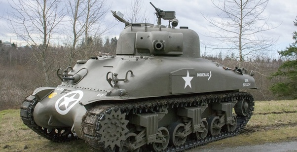 Why were Americans so far behind on tank technology during