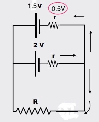 In parallel voltages electricity