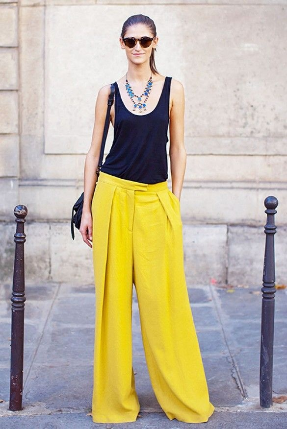 d8315ba417 What kind of top will look good with palazzo pant? - Quora