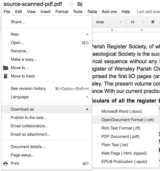 Can I Insert A Pdf Into A Google Docs Document Quora