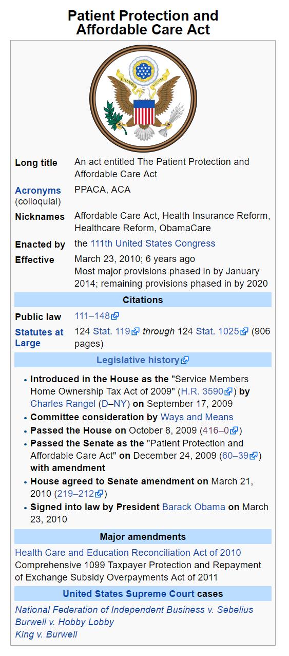 How Was Obamacare Passed Quora