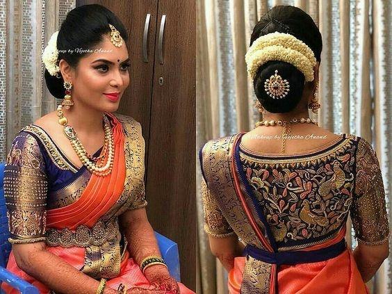 67bc855e75e26a What are the blouse designs for a silk saree? - Quora