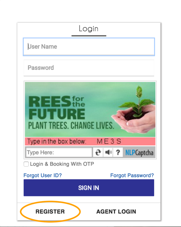 How to get the user ID and password for my IRCTC account - Quora