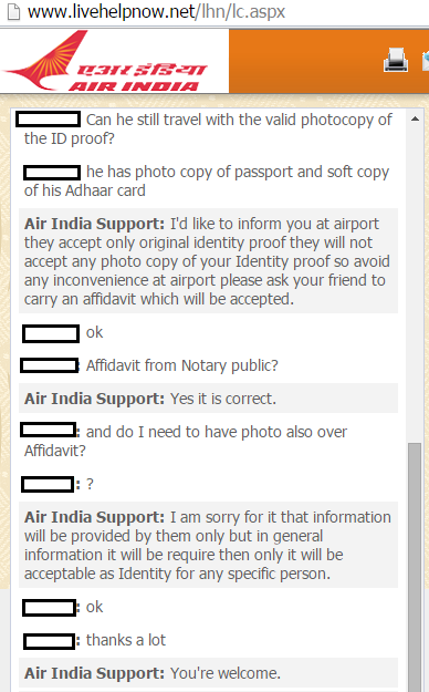 Is photocopy of Aadhar card valid at airport? - Quora