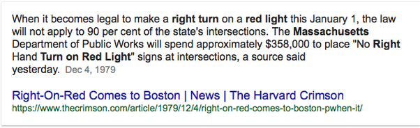 Right On Red Comes To Boston | News | The Harvard Crimson