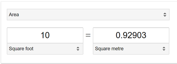 Sqft To Sqm | How To Convert Square Feet To Square Meters Quora
