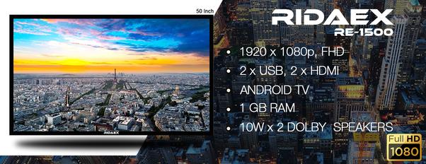 3066c513b8a 1080P Fully High Definition LED Tv • High Contrast Ratio   500000 1 • 2  Core ARM Cortex A7 Processor • 2 HDMI