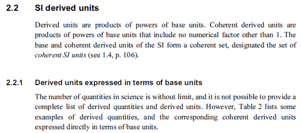 Why is the unit of pressure called a derived unit? - Quora