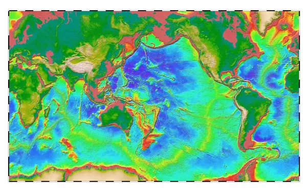 Why Do Oceans Have Different Shades Of Blue Quora - Map showing ocean depths