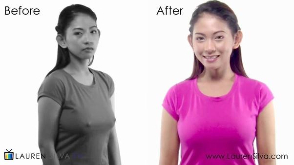 Nipples through t shirts