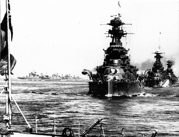How big was the Royal Navy in WW2 compared to 2016? Was it a