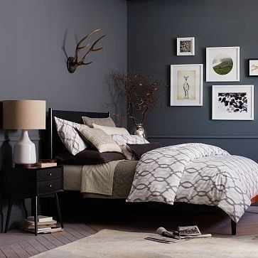 You can pick from a variety of shades of deep gray or even go with a fun silvery color! & Which color is best to paint your bedroom/study space (both in one ...
