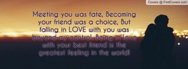 Fallen in Love with a Friend