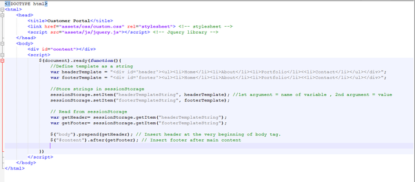 Here Is Your Index Page Code