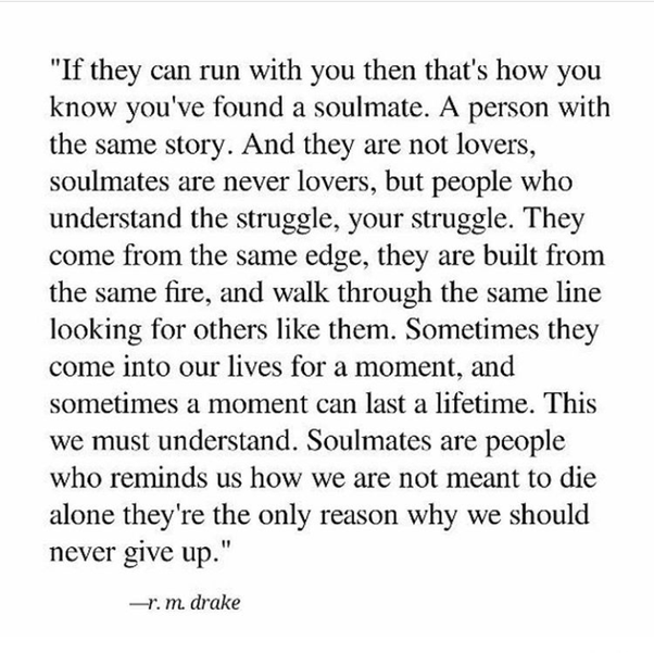 How do you know if someone is your soulmate