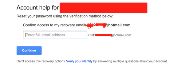 how to open my gmail account without password