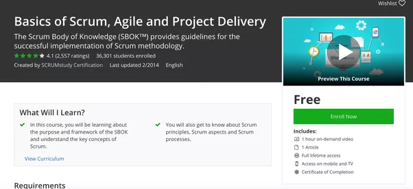 What are best online courses for agile project management? - Quora