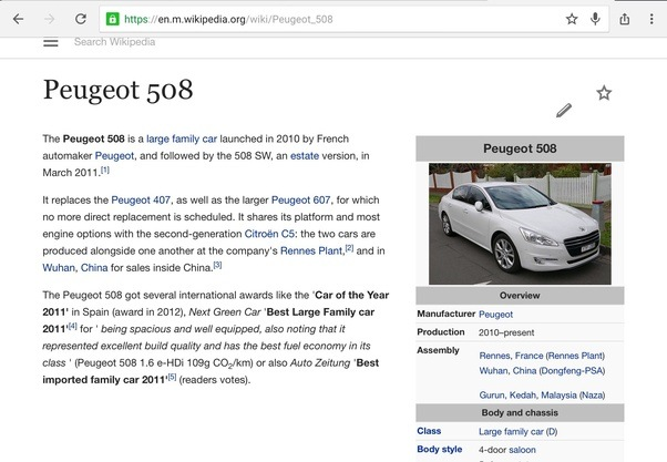 Where is the Peugeot 508 made? - Quora