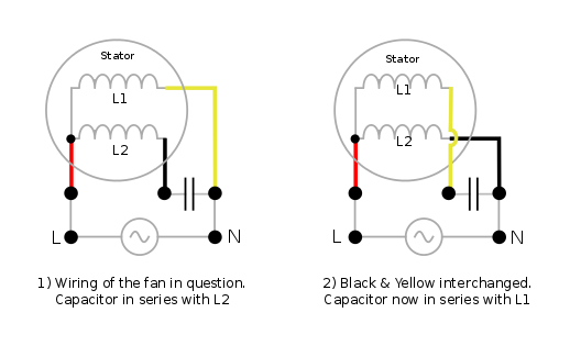 What Is The Function Of A Ceiling Fan Capacitor Quora