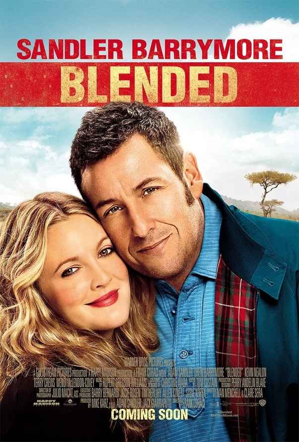 Which movies have Drew Barrymore and Adam Sandler starred ...