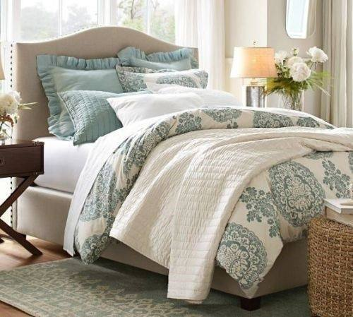 Your Bedsheets May Be As Plain As White, But Play With Patterned Bed Cover  Or Duvet To Make It Fun! Anything The Pattern Is For Your Duvet/bed Cover,  ...