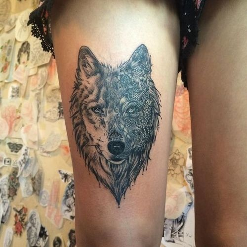 What Are Some Wolf Tattoo Designs?