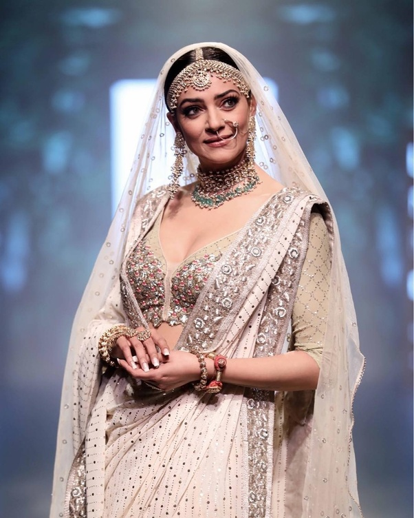 3c19709393 What are the latest trends in bridal lehengas  - Quora