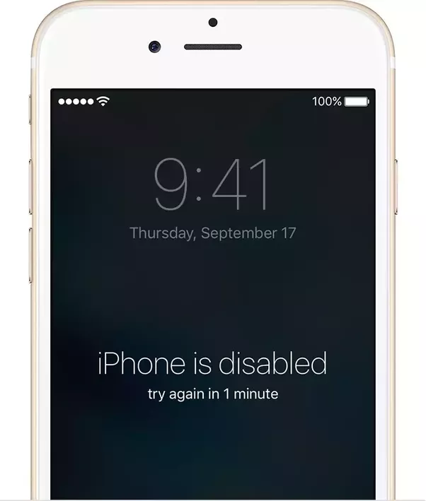 How to enable a disabled iPhone