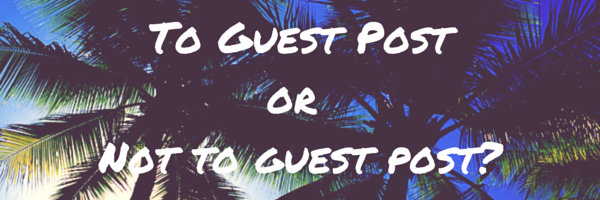 Should one Guest Post for a no-follow link? - Quora