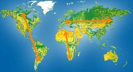 tropical africa and asia comparison and contrast between t The savannahs of asia remain locally  describe the major savannah formations of tropical and sub-tropical asia in  contrast to africa,.