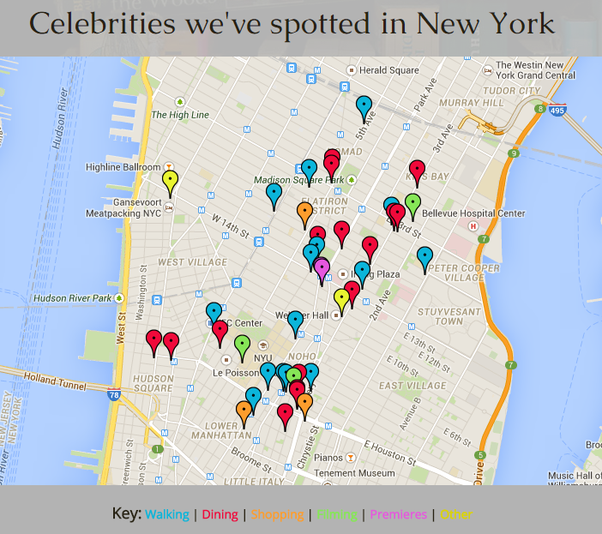 How Easy Is It To Randomly See A Celebrity In New York Or Los