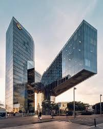 Cantilever Office Buildings Designs