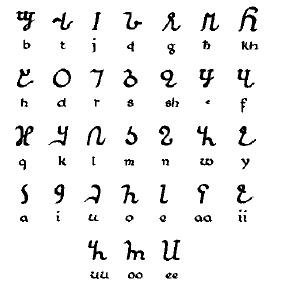 Do languages in Africa have their own letters or characters Quora