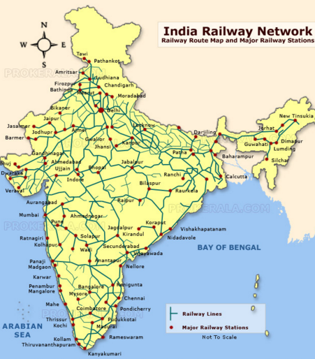 Trains Why hasnt the US or India improved its passenger railways